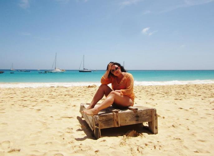 Kaapverdie Bohalista Beach Sal