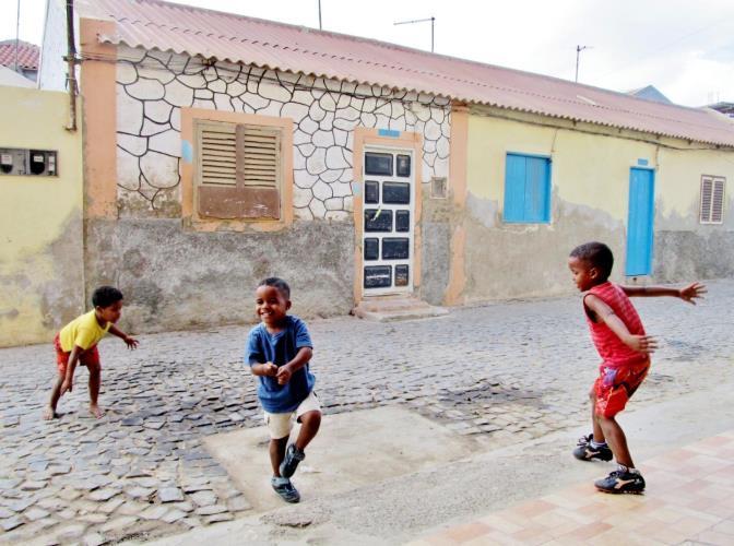 Kaapverdie Bohalista Kinderen