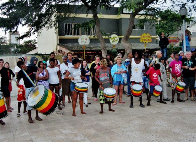 Kaapverdie Bohalista  Straatmuziek