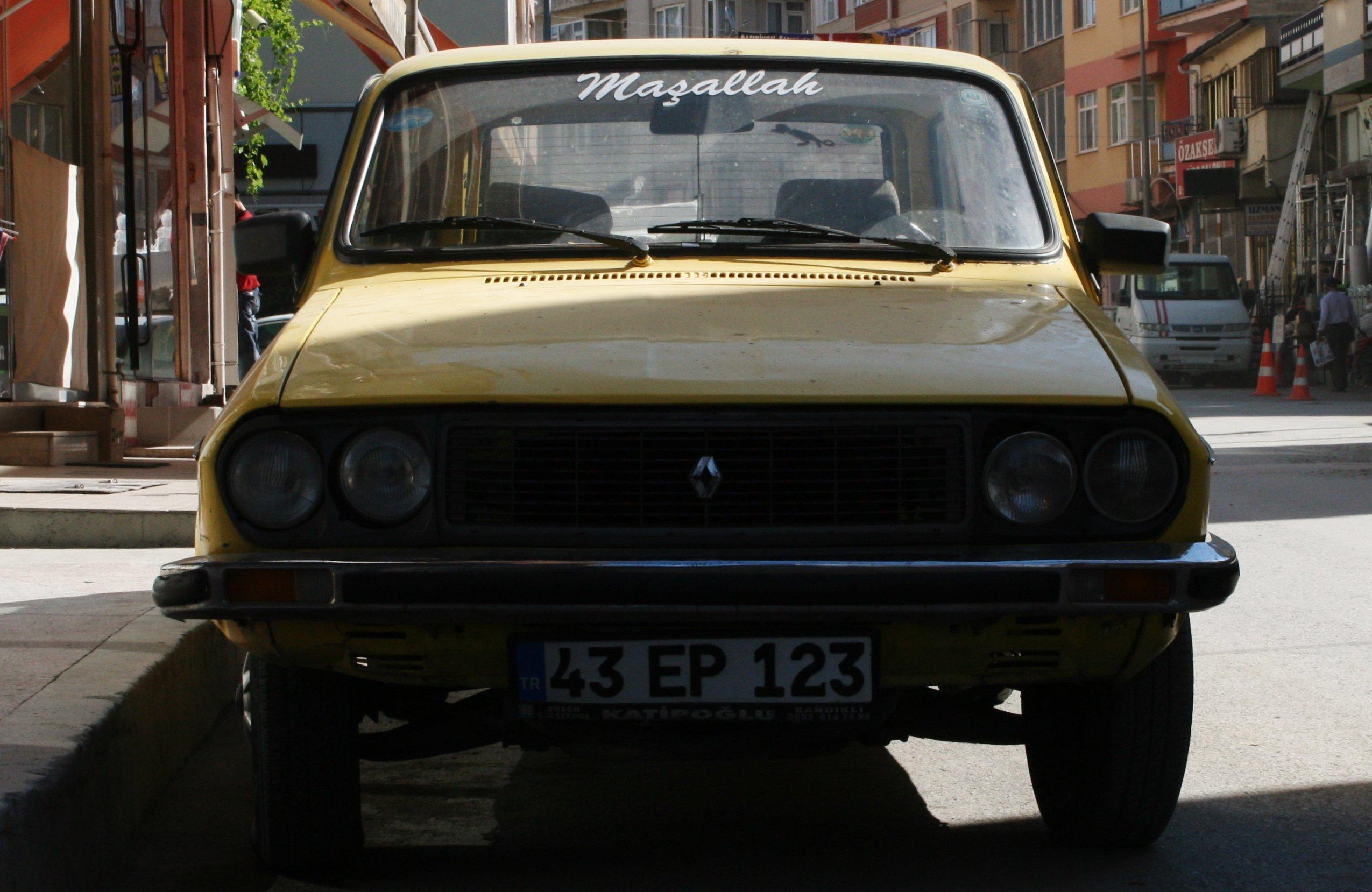 Rondreis Turkije Auto