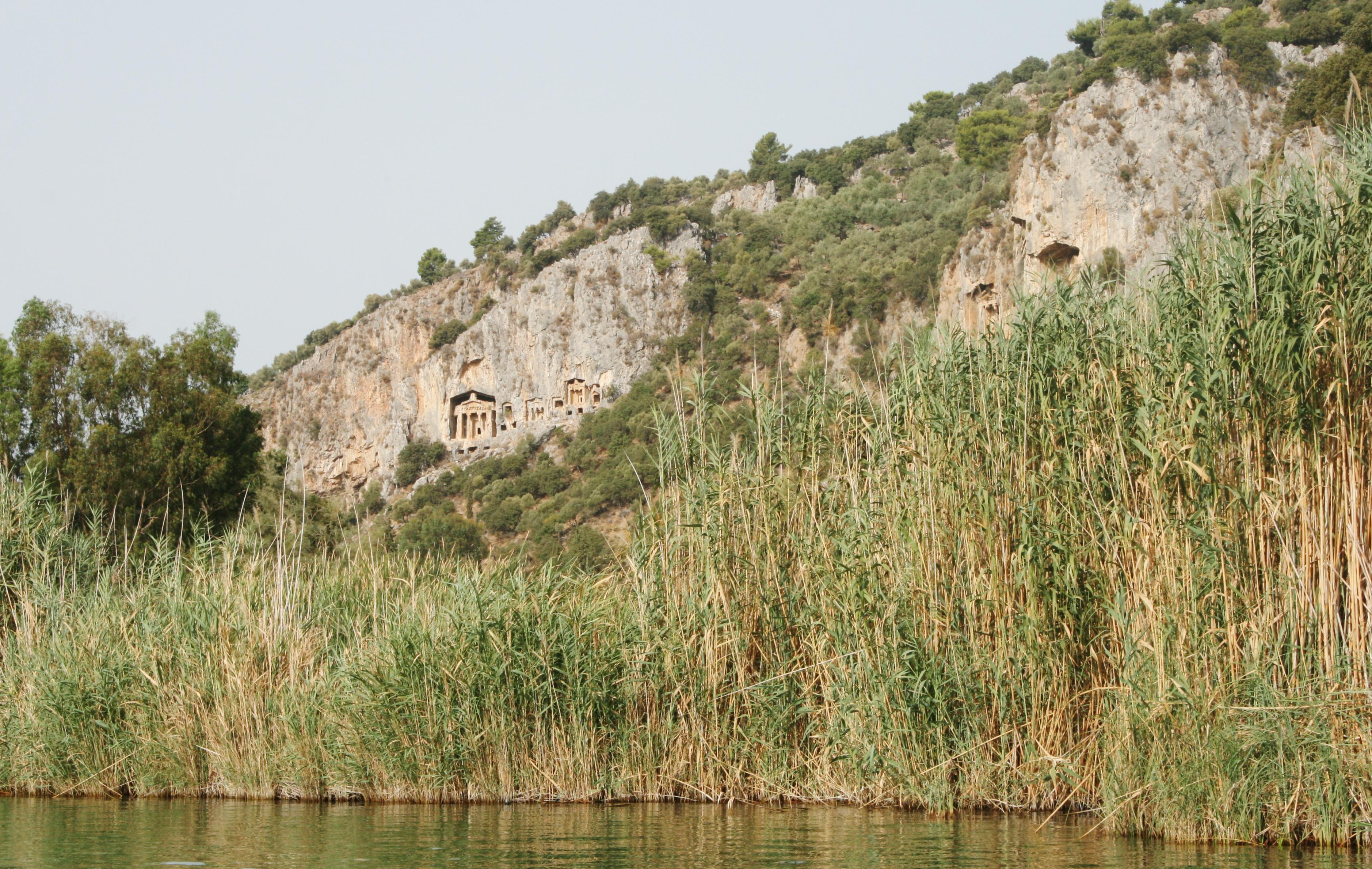 Rondreis Turkije Dalyan Rivier